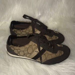 Coach Brown Sneakers